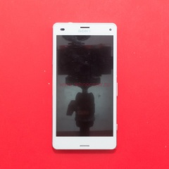 Sony Xperia Z3 Compact D5803 белый с рамкой