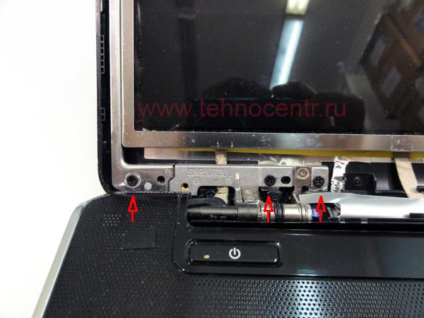 Замена матрицы в ноутбуке HP Pavilion dv6-1000 серии / Техноцентр - магазин комплектующих для ноутбуков
